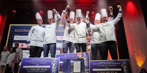 Finaliści kulinarnego pucharu Polski 2017