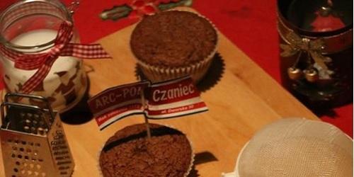 Noworoczne babeczki czekoladowe