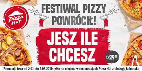 Rusza Festiwal Pizzy w Pizza Hut!