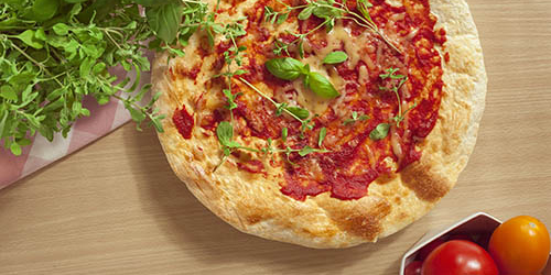 Szybka i prosta pizza wegetariańska