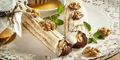 Orzechowy deser-idealny do kawy czy herbaty!