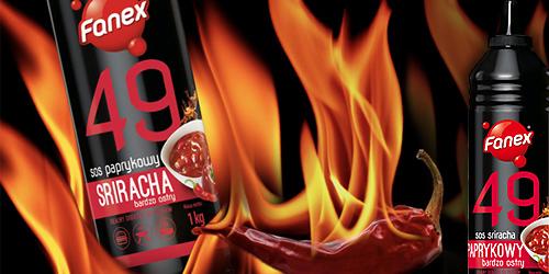 Nowa, niezwykle ostra odsłona sosu Sriracha od Fanex
