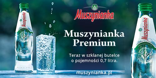 Muszynianka Premium- Gastronomia stawia na szkło!