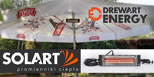 Drewart Energy- Promienniki na podczerwień