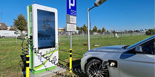 PRE Biel: Stacje ładowania pojazdów elektrycznych