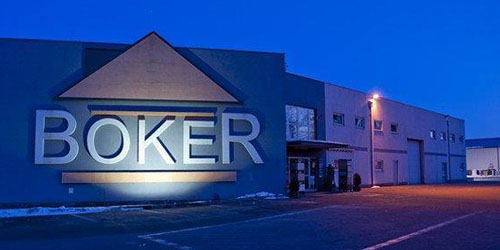 Market budowlany Boker